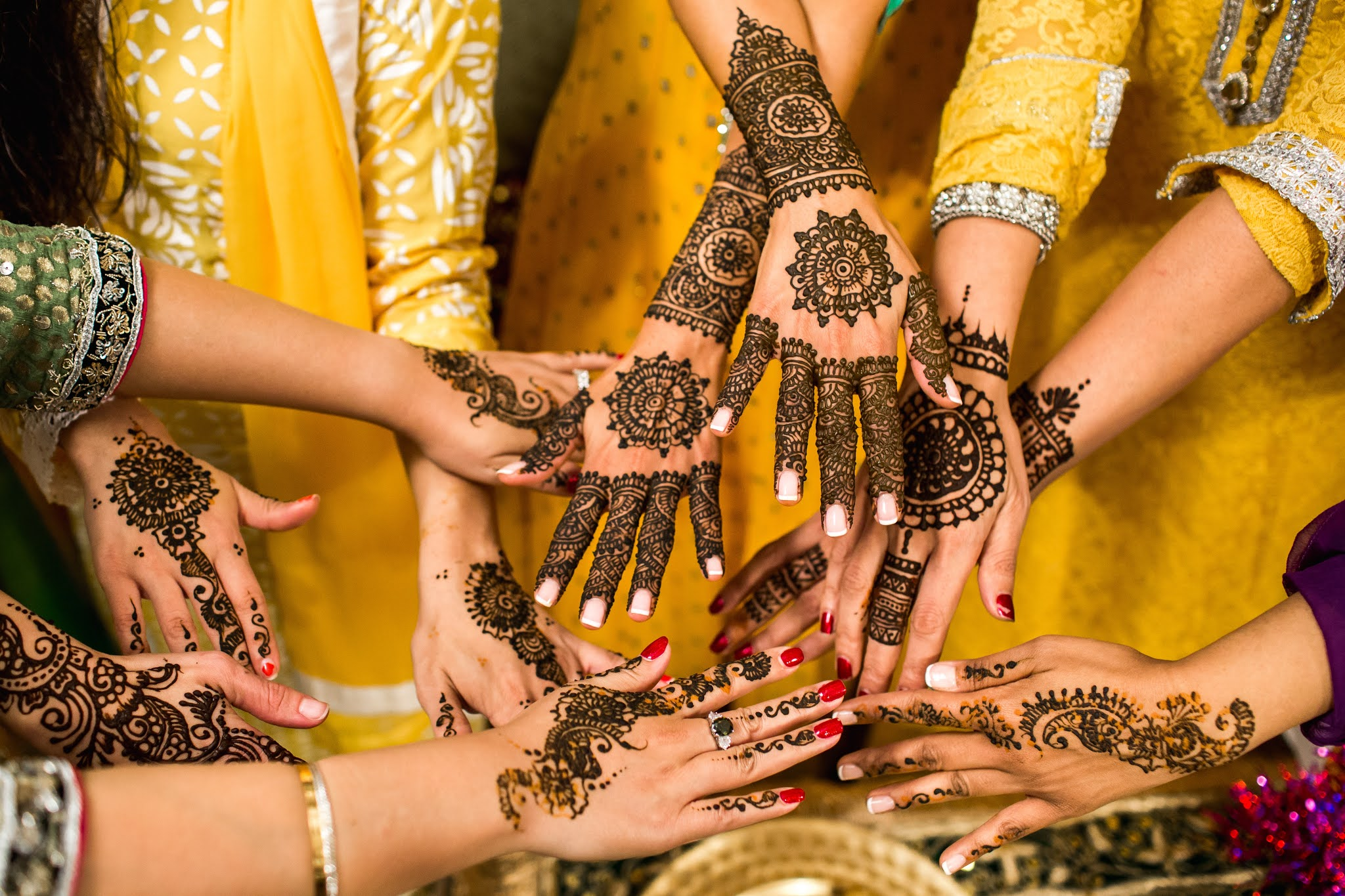 Why do we apply henna on hands and feet?