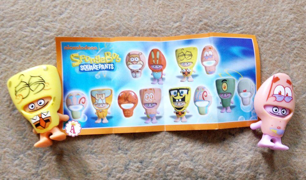 Киндер Спанч Боб 2019 вся коллекция игрушек