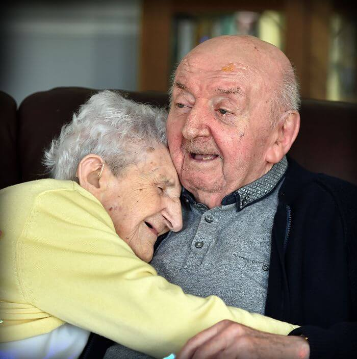 98-Year-Old Mother Joins Her 80-Year-Old Son In Care Home To Look After Him!