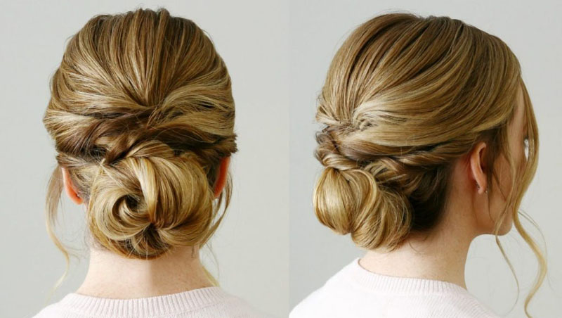 Easy ways to wear your hair up