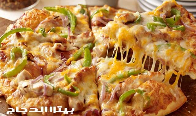 بيتزا الدجاج