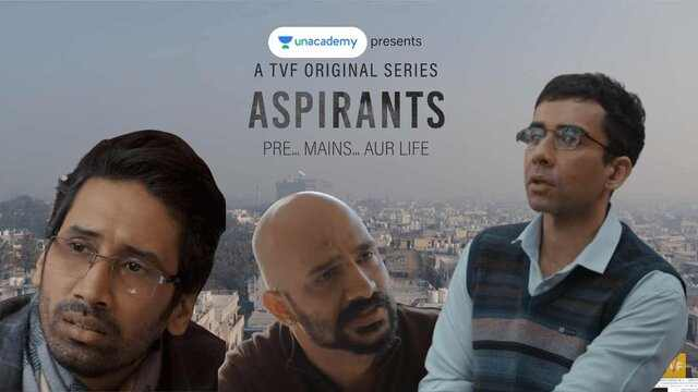 Aspirants Full Web series Movie Watch Download online free - TVF