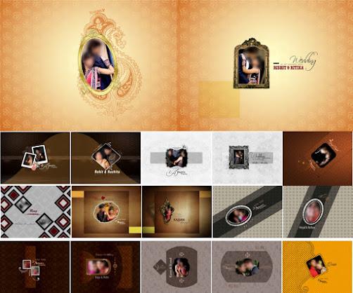 12 X 18 Karizma, Wedding Album, PSD, Cover Page, - 2020