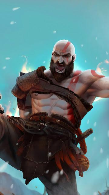 Papel de Parede Kratos hd