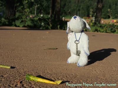 мультик про голубого щенка тедди