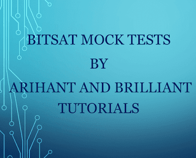 Bitsat Mock Tests By Arihant and Brilliant Tutorials : for JEE Exam PDF Book