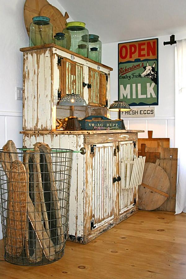 Rustik chateaux la alacena un mueble donde exhibir tus for Alacenas de cocina vintage