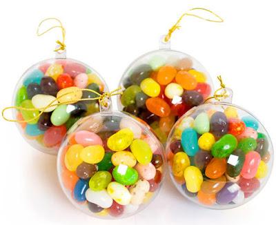 bolas caseras de navidad