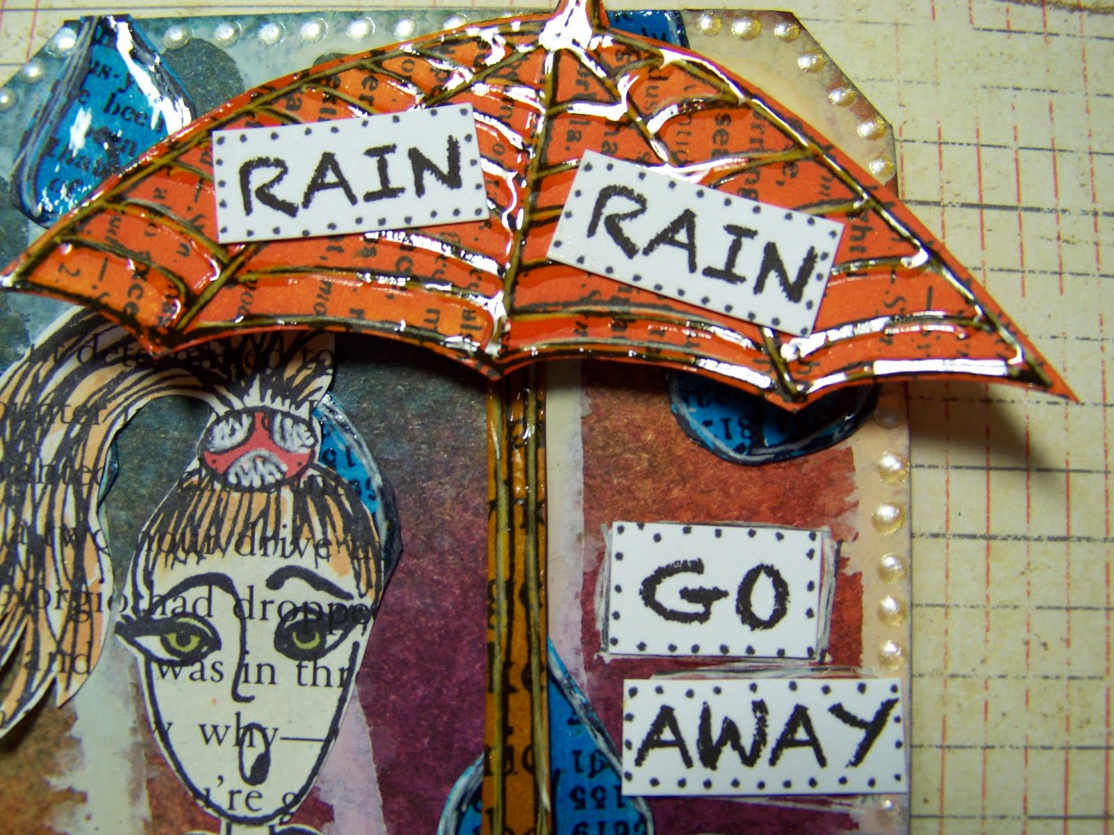 Ellen Vargo Designs Rain Rain Go Away More Fun With