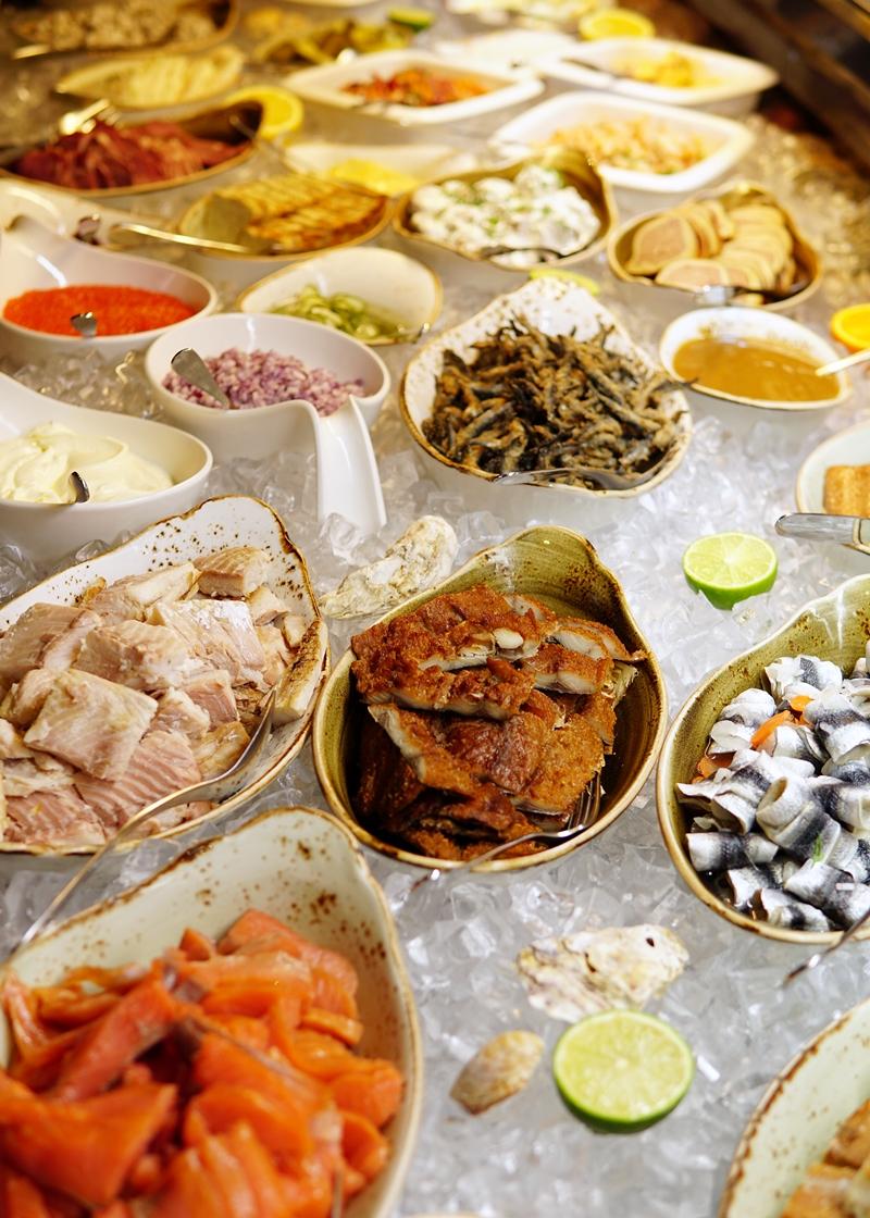hanko, ravintola, saaristolaispöytä, kalapöytä