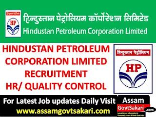 Hindustan Petroleum Recruitment 2019
