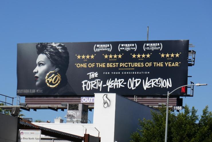 40-Year-Old Version FYC billboard