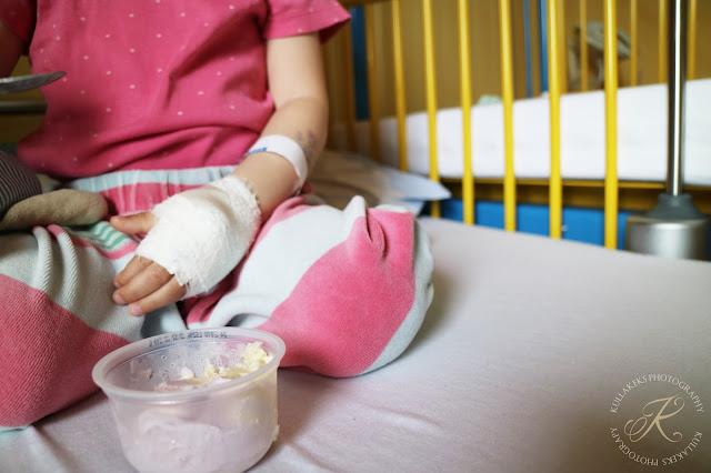 Polypenoperation am Kind - das erste Eis