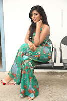 Actress Eesha Latest Pos in Green Floral Jumpsuit at Darshakudu Movie Teaser Launch .COM 0151.JPG
