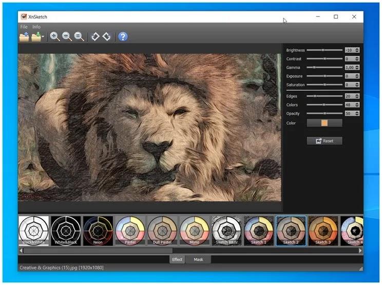 XnSketch : Μετατρέψτε τις φωτογραφίες σας σε έργα τέχνης