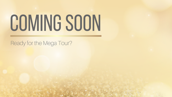 Ready for the Mega Tour? Promotional VBT coming soon, want to be a host?