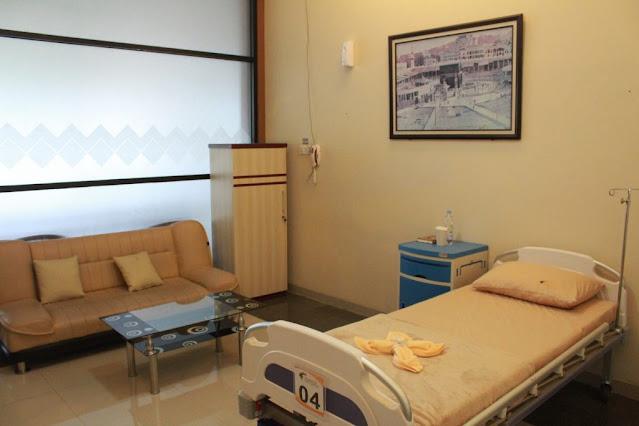 Ruang rawat inap Kuningan Eye Center