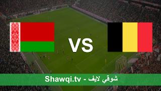 مشاهدة مباراة بلجيكا وروسيا البيضاء بث مباشر اليوم بتاريخ 30-03-2021 في تصفيات كأس العالم 2022