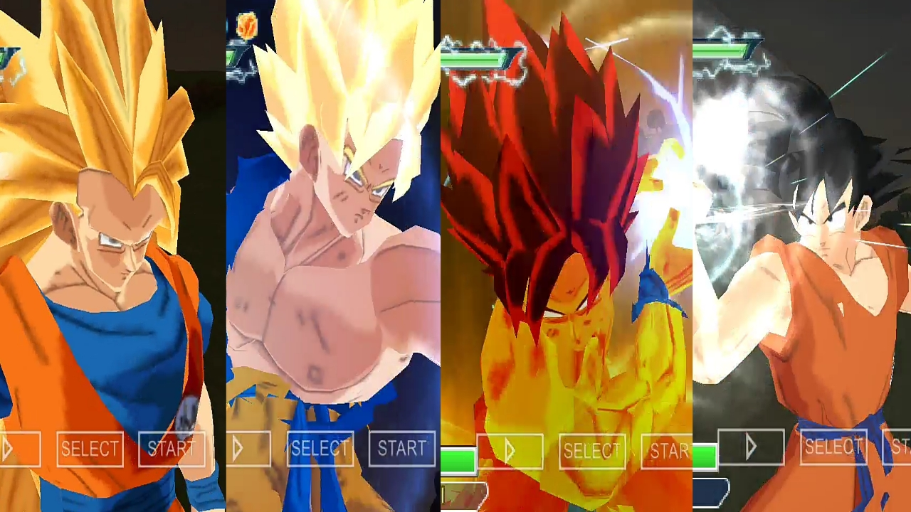Dragon Ball Z Goku All Faces