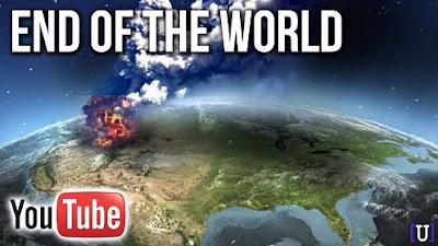 Un'eruzione del vulcano Yellowstone