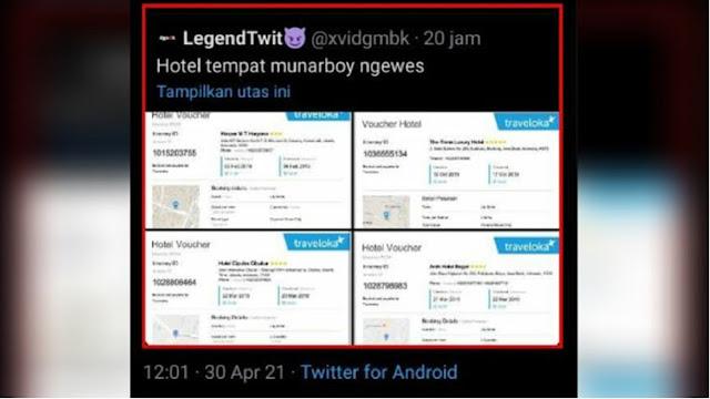 Kok Bisa Data Pribadi Munarman Check In Hotel via Traveloka Bocor ke Publik?