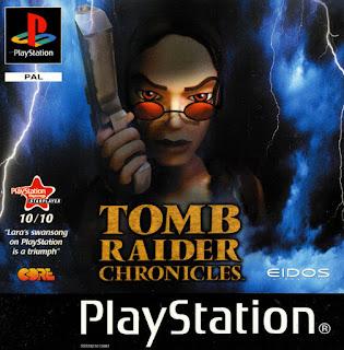 Jogo de tiro online grátis Tomb Raider Chronicles