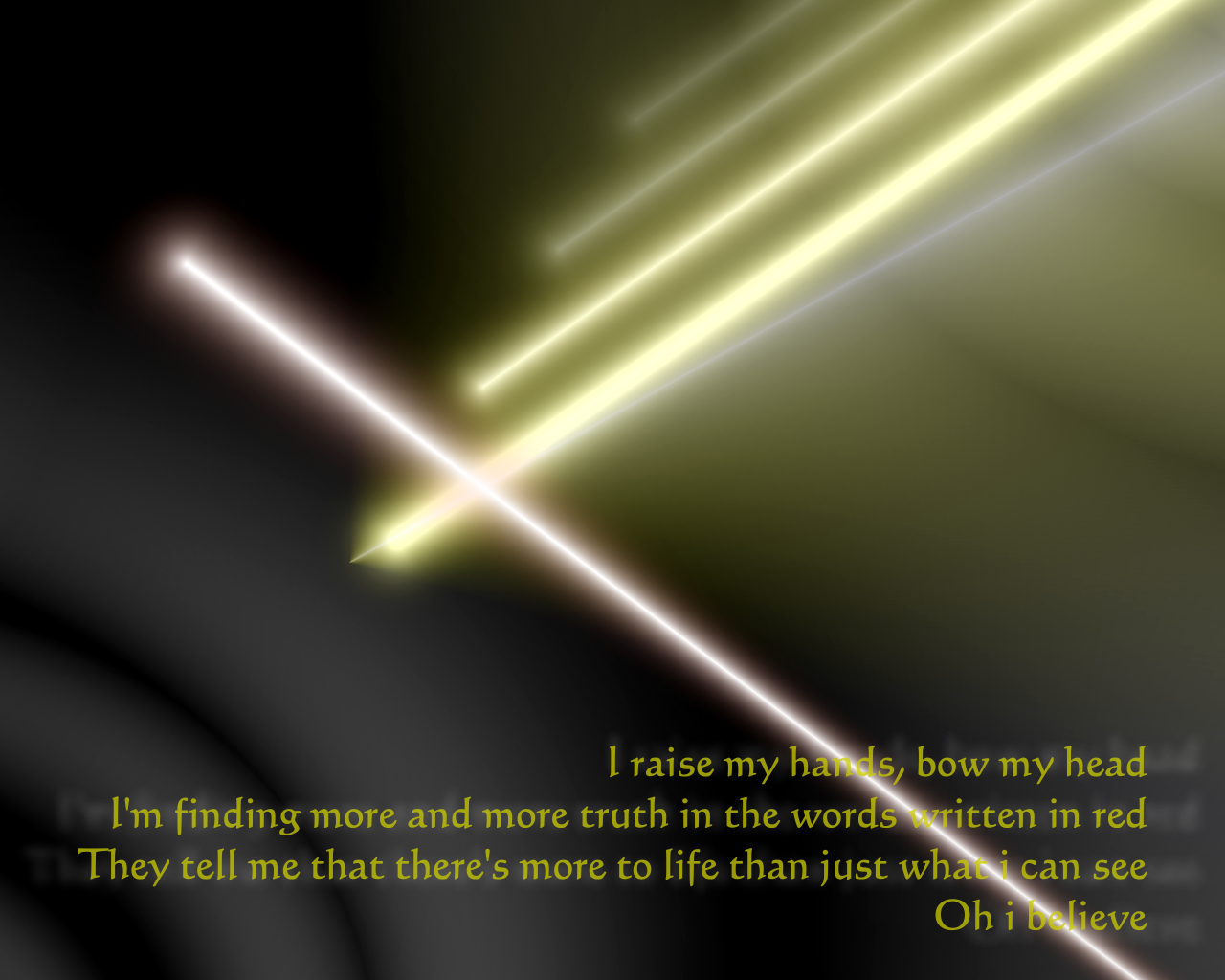 Song Lyric Quotes In Text Image: I Believe