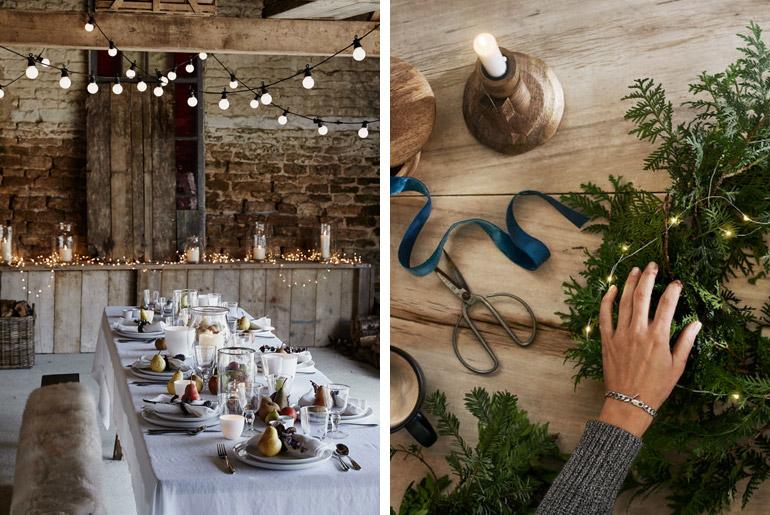 inspiración-mesas-navidad-simplicidad-decoración-frutas-luces-velas