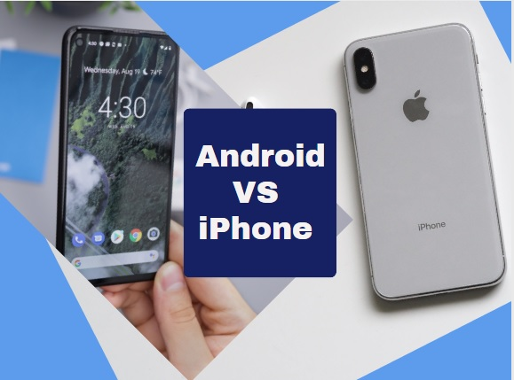 Difference between iPhone and Android
