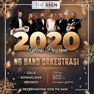 The Sign Hotel Şile İstanbul Yılbaşı Programı 2020 Menüsü