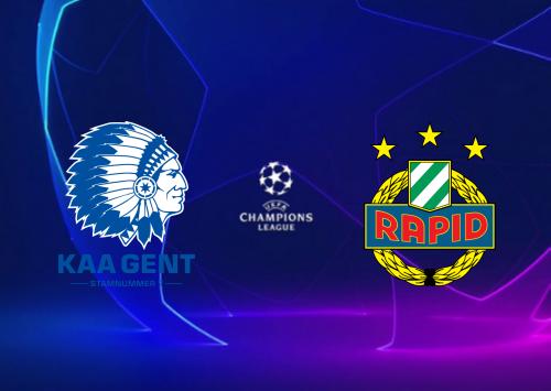 Gent vs Rapid Wien -Highlights 15 September 2020