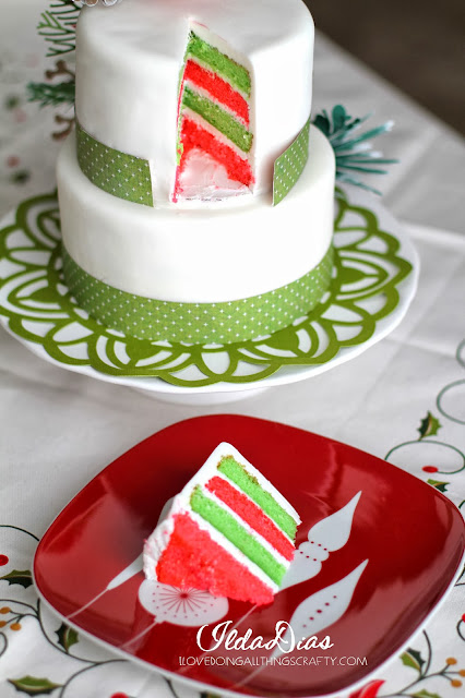 Christmas Paper Cake Floral Toppers | Cake a la SVGCuts | DIY Cakes