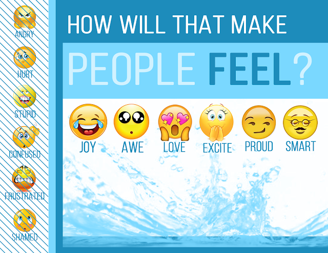 How will that make people feel. What are the overall feelings you are leaving readers with your blog?