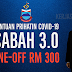 Bantuan Prihatin Covid 3.0 Sabah - Tunai RM 300
