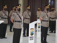 Kapolda Jatim Pimpin Sertijab Pejabat Utama dan Kapolres Jajaran Polda Jatim