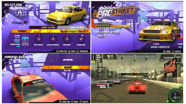 Review Game jadul Need For Speed ProStreet PSP - Rasanya Seperti Versi Lite Dari PS2