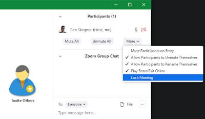كيفية إعداد اجتماع زوم