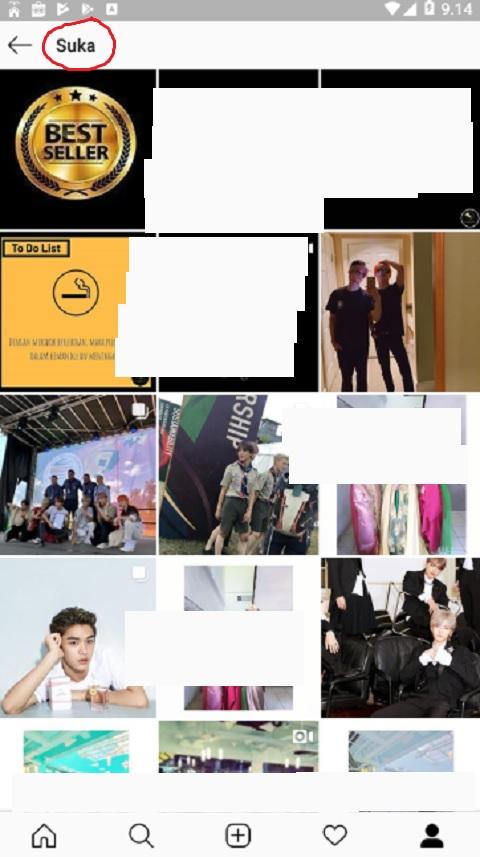 Daftar Kiriman yang Anda Sukai di Instagram