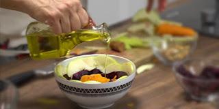 cildi güzelleştiren besleyen salata hazırlama - KahveKafeNet