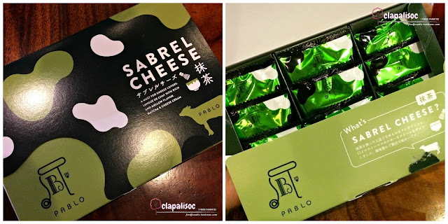 Sabrel Cheese Matcha from Pablo