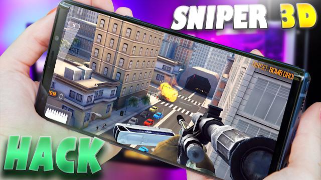 Sniper 3D Mod Para Telefonos Android (Todo Infinito) [Apk]