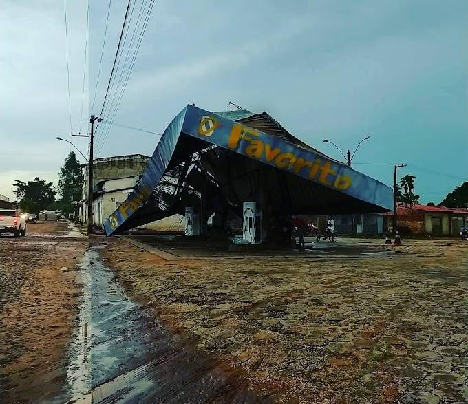 Tempestade causa estragos em Urbano Santos e outras cidades do Maranhão
