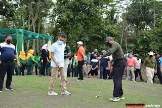 Wahana Panorama Golf Merbabu Diresmikan Danrem 073/MKT Kolonel Inf Ari Yulianto