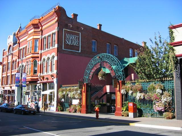 Market Square em Victoria