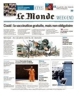 Le Monde Magazine 5 December 2020 | Le Monde News | Free PDF Download