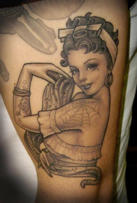 tatuajes de pin ups y su significado