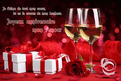 joyeux anniversaire amour texte