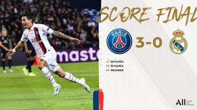 Dibantai PSG 3-0, Real Madrid Seperti Ayam Sayur