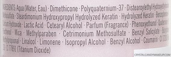 Schwarzkopf Professional BC Color Freeze CC Cream Ingredients