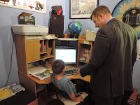 computer console desk